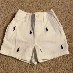 New w/o tags 6M Polo shorts